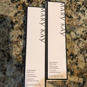 Mary Kay Extra Emollient Night Cream (lot of 2)